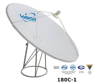 180cm Satellite Dish Antenna with RMS Errror Certification pictures & photos