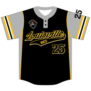 Custom Design Sublimated Baseball Shirt for Teams pictures & photos