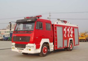 Sinotruk Fire Fighting Truck (ZZ1166SSMC46100) pictures & photos