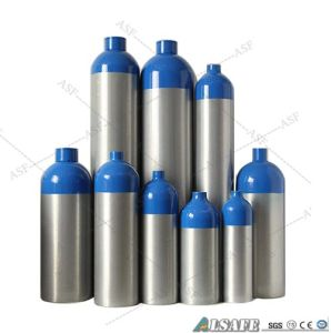 M2 to M150 Aluminum Medical Oxygen Gas Cylinder Sizes pictures & photos