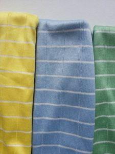 Microfiber Bamboo Cloth W/ Line Design pictures & photos