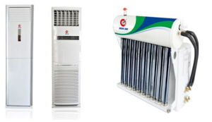 Floor Standing Type Hybrid Solar Air Conditioner with RoHS (TKFR140LW) pictures & photos