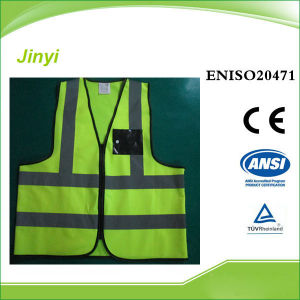 Hihg Reflective Vest with PVC Pocket