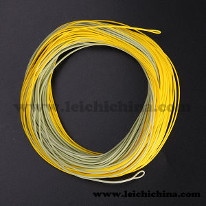 High Quality Gold Silk Fly Fishing Line pictures & photos