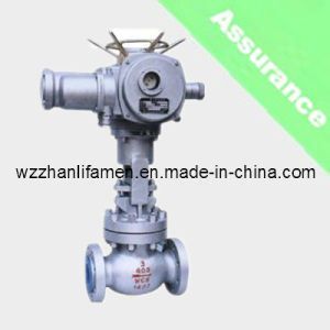 Electric Operated Globe Valve J941h (API, DIN, GB) pictures & photos
