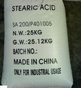 White Flakes, Powder, Prilled Stearic Acid pictures & photos