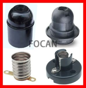 Lamp Holder & Light Socket & Bulb Base for E10, E12, E26, E27, B22 Type with CE, VDE, UL, SAA, RoHS pictures & photos