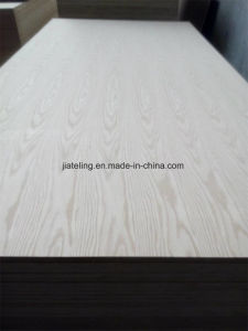 AAA Grade E1 Glue Red Oak Veneer Faced MDF From China Manufacturer pictures & photos