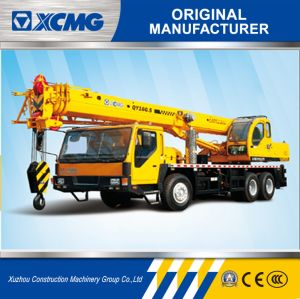 XCMG Hydraulic Hoising Machine Qy16g. 5 16ton Small Crane pictures & photos