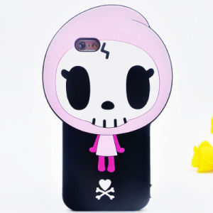 3D Cartoon Soft Silicone Case for iPhone 6 6splus 7 7plus Cell Phone Accessories (XSR-046)