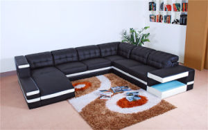 Home Furniture New Design Living Room Leather Sofa Set (HC1047) pictures & photos