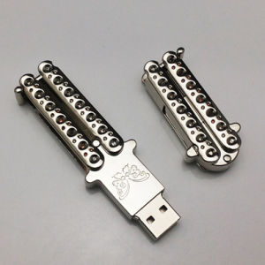 Noble Business Gift Butterfly Knife USB pictures & photos
