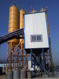 HZS50 Fixed Concrete Batching Plant pictures & photos