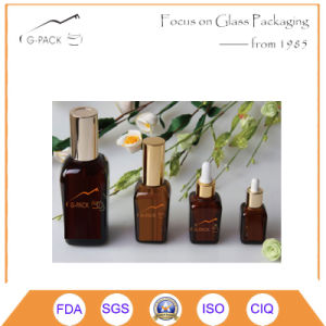 Square Shape Glass Perfume Bottle, Dropper Bottle, Oil Bottle pictures & photos