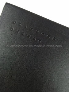 A4 High Quality PU Leather Moleskine Notebook pictures & photos