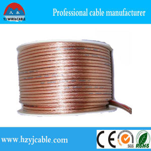 OEM Serive Transparent Stranded Pure Copper Parallel Cable Flexible Wire pictures & photos