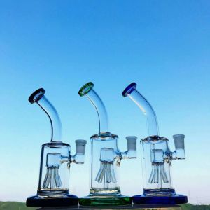 8inch Arm Tree Percolator Bent Neck Thickness Base Mini Glass Smoking Water Pipe pictures & photos