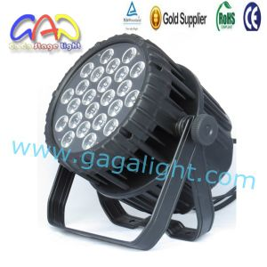 24X18W LED PAR DMX Rgbwap 6 In1 LED Stage Lighting pictures & photos