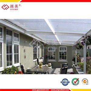 Diez a os de la garant a del policarbonato de hoja for Cubiertas transparentes para techos