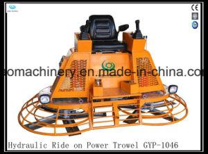 Hot Sale Kohler Engine High Horsepower Hydraulic Ride on Power Trowel Gyp-1046 pictures & photos