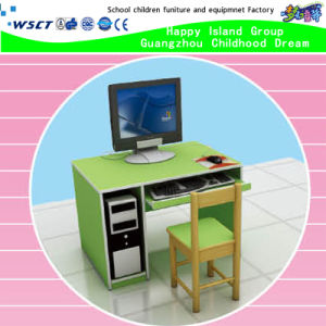 Kindergarten Furniture Wooden Kids Computer Table on Stock (HB-04101) pictures & photos