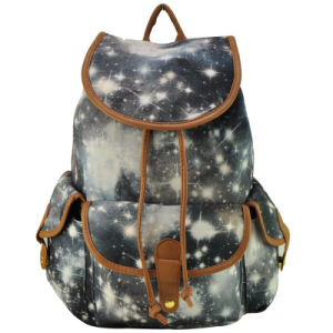 Newest Colorful Designer Ladies Bag Canvas Backpacks for Girl pictures & photos