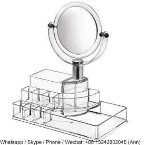 Clear Acrylic Storage Box with Mirror pictures & photos