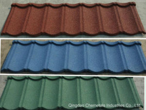 Classic Color Stone Coated Metal Roofing Tile pictures & photos