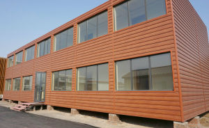 Low Cost Prefab House/ Prefabricated Houses/Container House Hotel pictures & photos