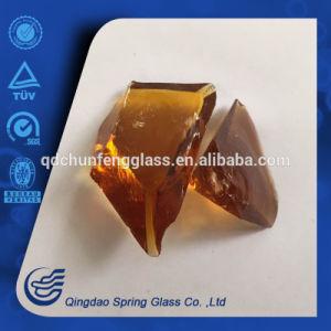 Transparent Brown Color Glass Rocks pictures & photos
