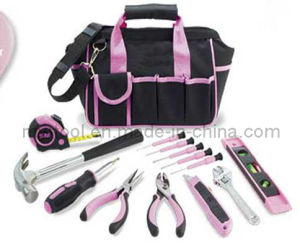 Hot Selling Professional 18PCS Pink Tool Bag Set pictures & photos