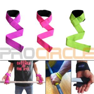 Adjustable Heavy-Duty Weightlifting Straps with Extra Padding (PC-WS1002) pictures & photos