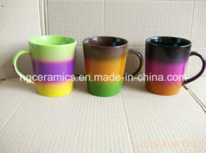 Rainbow Mug, Rainbow Color Mug pictures & photos