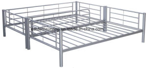 Modern School/Bedroom Dormitory Room Furniture Metal Bunk Bed pictures & photos