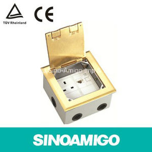 Hinged Floor Outlet Boxes/Floor Boxes/Floor Socket (SOP-B) pictures & photos