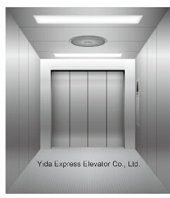 Hairline Stainless Steel Freight Elevator pictures & photos