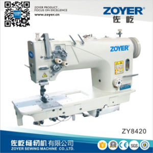 Zoyer Twin 2-Needle Double Needle Lockstitch Industrial Sewing Machine (ZY8420) pictures & photos