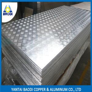1050, 1060, 1100, 1200 Aluminum Chequered Plate pictures & photos