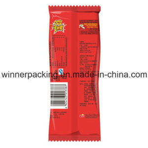 Plastic Middle Seal Food Packaging Pouch Bag for Biscuit