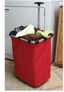 Good Quality Trolley Laundry Bag with Wheels pictures & photos