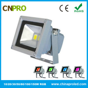 10W RGB LED Flood Light with Ce RoHS pictures & photos