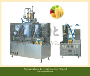 Semi Automatic Beverage Gable Top Carton Packing Machine (BW-1000-3) pictures & photos