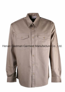 UL Certificated Industrial Work Shirt Nfpa70e Flame Resistant Shirt pictures & photos