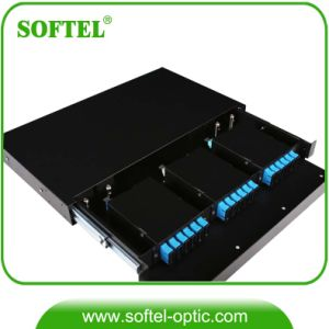 12-48 Core 1u 19′′ Pre-Assembled MPO Patch Panel pictures & photos
