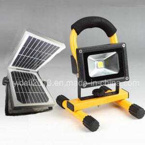 New Rechargeable and Portable 5W LED Camping Solar Flood Lights pictures & photos
