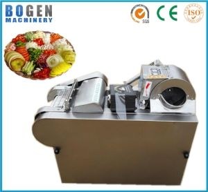Fruit and Vegetable Slicing, Strip Cutting and Dicing Machine pictures & photos