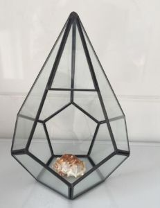 Pot for Flowers Handmade Prism Glass Terrarium&Nbsp; pictures & photos