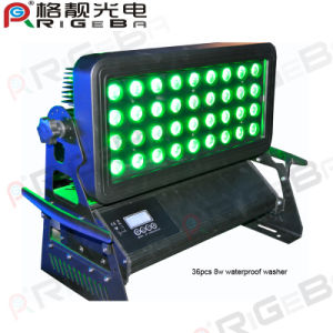 36LEDs 8W Outdoor Waterproof LED Wall Washer pictures & photos