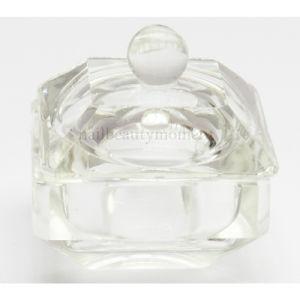 Manicure Beauty Art Nail Liquid Glass Dappen Dish Container (C25)