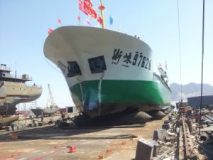Ship Launching Landing Marine Inflatable Lifting Salvage Rubber Airbag /Balloon/Pontoon